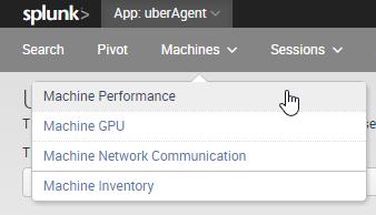 uberagent-menu-machine-performance